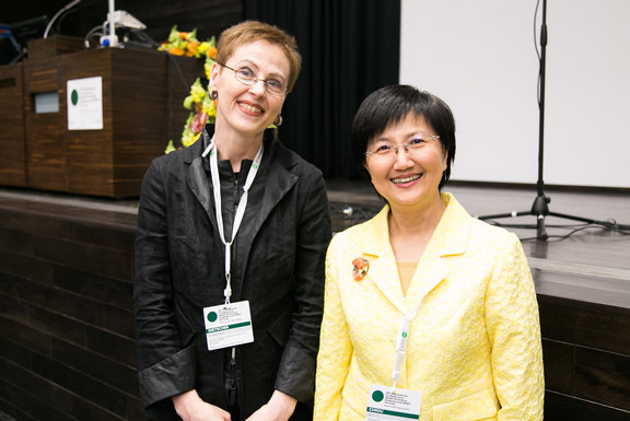 Christina Dietscher and Shu-Ti-Chiou are looking forward to the opening of the 25th International HPH Conference
