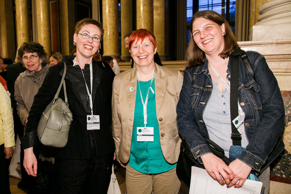Christina Dietscher, Anja Leetz and Astrid Loidolt